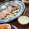 【韓国料理で辛くないもの4】サムギョプサル いろいろな鉄板パターンがあります。 삼겹살