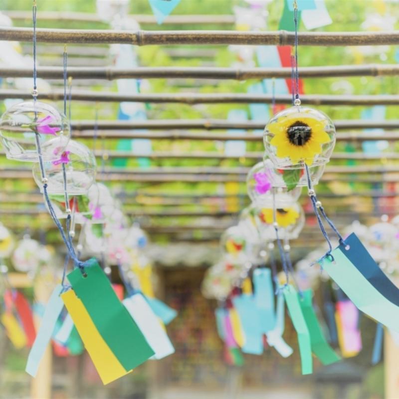 涼やかな音色を奏でる2000個の風鈴♪京都・正寿院の風鈴まつり