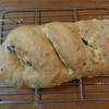 オリーブとじゃがいものパン、ちょっと失敗。