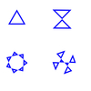 4拍子の形?5拍子は星型?