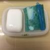 100均クリップで余った石鹸を再利用