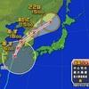 台風朝鮮半島へ