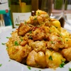 【レシピ】鶏もも肉とじゃがいものカレーオイマヨ炒め