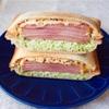 【レシピ】朝からがっつり♡焼き豚とキャベツのホットサンド♡