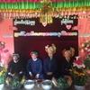 ミャンマーの少数民族の結婚式