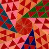 平面の等量等形分割『二等辺3角形』