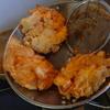 幸運な病のレシピ( 1229 )昼 :玉ねぎかき揚げ、ギス天ぷら、鳥フライ、蕎麦