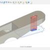 3D CAD 練習課題4-2(3次元CAD利用技術者試験 1級・準1級サンプル問題より・問4のモデリング解答(2/4))