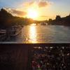 フランス旅「パリとモン・サン・ミッシェルの旅!ほろ酔いで歩くパリ!光り輝くポン・デ・ザールの南京錠」