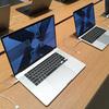 MacBook Pro16インチにして正解。13インチを購入するつもりだったけど。ハイスペックなだけでなくキーボードも改善、スピーカーのレベルも違う。