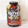 タンパク質24g+BCAA&グルタミン!ニトロ テック 100%ホエイゴールド