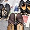 休日は靴の手入れ(そんなマメじゃないですよ)