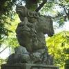加賀逆立ち狛犬巡り・金沢「浅野神社」
