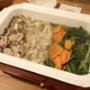 BRUNOを使ってワンタン鍋が簡単美味しかったし、インスタ映え♡ と、サラダほうれん草の成長