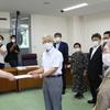 9日、いわき市夏井川災害被害者の会が県に要望書