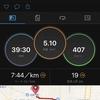 ランニングログ 7/13 5kmラン 体重目標まであと▲1.8kg