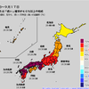 【1か月予報】向こう1か月は全国的に暑くなる予想!異常天候早期警戒情報も出されており、お盆明けの21日頃から約1週間は東北・北陸・関東甲信・近畿・中国・九州北部で気温がかなり高くなりそう!!