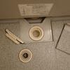 浴室は、使用後に水滴を徹底的に排除します~閲覧注意画像あり