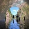 アートなトンネルで審美的涼体験