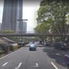 【歩道橋】ホテルハイアット東京前の歩道橋