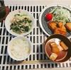 最近の夕飯。