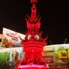 「チェンラーイ」の夜の見どころ~「時計塔」、「ナイトバザール」、「サタデーマーケット」の光景!!