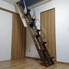 折り畳み互い違い階段(杉原クラフト製)は間違いなかった