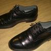ややチープ感のある革靴もカジュアルスタイルにはクールな感じもする話