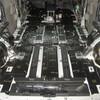 デリカD5のフロア全面防音デッドニング施工