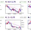 FX 今とこれから予測  米国・ECB・豪ドル・NZドル