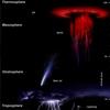 雷の上に発生する超巨大雷「スプライト」とは