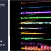 KTK Laser Effects Volume 1 エネルギー最大!日本作者さんが作ったレーザービームのパーティクル素材集