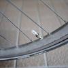 自転車のタイヤと前ブレーキを交換