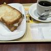朝カフェ・セットB たらもサラダ@ドトールコーヒーショップ 札幌大通西3丁目店