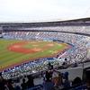 コロナ禍での野球観戦。ZOZOマリンスタジアムの様子。