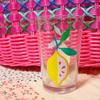 可愛いレモンのグラス [ Flying Tiger ]