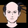 髪の毛が一本もない人はハゲである(前提1)ハゲの人に髪の毛を一本足してもハゲである(前提2)