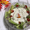 カッテージチーズドレッシングのサラダ|ポートレート撮影