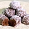 レンジで3分!超簡単な『ココアスノーボールクッキー』の作り方