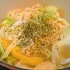【1食87円】アンチョビキャベツスープ冷凍水漬けパスタの時短レシピ