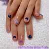 冬休み限定でのお楽しみ♡ハンド&フット♪大好きな紫色のキッズネイル☆