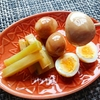 ごま油と醤油のダブル漬けでうずらの卵とブロッコリーの茎が最高の副菜に早変わり!【レシピ】