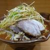 ラーメン二郎  野猿  大ラーメン麺増し600ねぎ辛い奴ニンニク少なめヤサイ少なめ