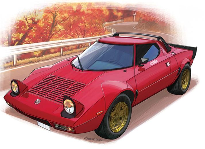 【下野康史の旧車エッセイ】 ランチア・ストラトス 古今東西、いちばんカッコいいと思う自動車