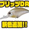 【O.S.P】3mレンジを攻略出来るクランクベイト「ブリッツDR」に新色追加!