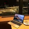 【夜間飛行】成田空港 サクララウンジ