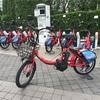 あの都内を走る赤い自転車!コミュニティサイクルを初利用しました♪♪
