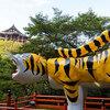 【奈良】関西でバンジージャンプ 信貴山で飛んでからの巨大張子の虎・ゼニガメ様 ①