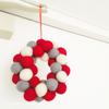 「クリスマスの飾り」をシンプルな北欧インテリアに*100均アイテム、ちいさなリースなど