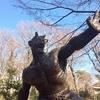 井の頭公園の一角にヘンな彫刻がいっぱいあります。